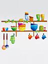 Forme Stickers muraux Stickers avion Stickers muraux decoratifs,PVC Materiel Lavable / Amovible / Repositionable Decoration d\'interieur