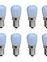 3W E14 LED Kerzen-Gluehbirnen B 1 COB 160 lm Warmes Weiss / Kuehles Weiss Dekorativ AC 220-240 V 8 Stuecke