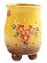 kreativ trädgård cement hantverk heminredning dekoration konstgjorda blommor vaser / blomkruka