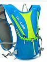 Cykling Ryggsäck ryggsäck för Fritid Sport Resa Löpning SportväskaReflekterande Rand Bärbar Multifunktionell Vattenblåsa Ingår