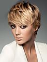 blond färg cosplay peruker värmebeständiga syntetiska grossist kort lockigt part cosplay peruk