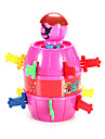 jucărie noutate joc de jucărie Jucarii Jucarii Cilindric ABS Orange / Piersică Pentru Copii