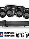 sannce® 4ch 720p DVR övervakningssystem 1280 * 720 inomhus utomhus säkerhet kameror maximal ir avstånd (30m) hdd