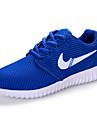 Blå / Grön / Rosa / Vit-Platt klack-Flickor-Komfort-Tyll-Fritid-Sneakers