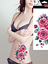 5 Tatueringsklistermärken Blomserier Ogiftig VattentätDam Vuxen Blixttatuering tillfälliga tatueringar