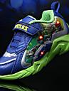 Garcon-Sport-Bleu royal-Talon Plat-Confort-Sneakers-Tulle / PVC