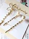 3pcs perla floare bijuterii ace de păr păr clip