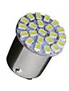 10 x blanc 1,156 Ba15s 22-SMD ampoules LED clignotants sauvegarde P21W 382 7506