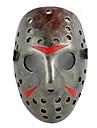 Masque Cosplay Fete / Celebration Deguisement Halloween Argent Imprime Masque Halloween / Carnaval Unisexe Resine