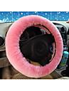 australiensisk får läder bil till ratt uppsättningar av ren ull trivs