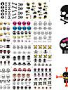 nagel konst nagel Sticker Helnageltoppar / Nagelsmycken / Andra Dekorationer