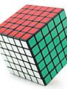 Shengshou® Cube de Vitesse  6*6*6 Fluorescent Niveau professionnel Soulage le Stress Cubes magiques Noir Blanc Plastique