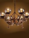 Lampe suspendue ,  Traditionnel/Classique Peintures Fonctionnalite for Style mini MetalSalle de sejour Chambre a coucher Salle a manger