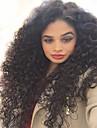 100% non transformes bresiliens vierges de cheveux humains naturels couleur noir boucles perruques completes avec des cheveux de bebe