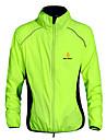 WOLFBIKE® Veste de Cyclisme Unisexe Manches longues VeloSechage rapide / Pare-vent / Resistant aux ultraviolets / Zip frontal / Materiaux