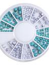 1 set Nail Art Decoration Strass Pearls makeup Kosmetisk Nail Art Design