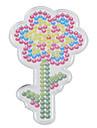 1pcs modele modele de tournesol de panneau perfore clair pour perles hama 5mm Perler perles perles fusibles