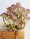 1 Une succursale Polyester Plastique Plantes Fleur de Table Fleurs artificielles 15(5.9\'\')