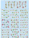 Nail Art Nail Sticker Helnageltoppar / Nagelsmycken / Andra Dekorationer