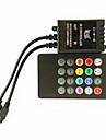 zdm® 20 nyckel 70W infraröd musik ledde controller för LED RGB lysrör (dc12-24v)