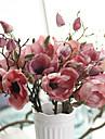 1 1 Gren Polyester Orkidéer Bordsblomma Konstgjorda blommor 26cm