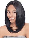 14-18inch långa bob frisyrer för kvinnor spets front människohår peruker