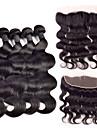 4 delar Kroppsvågor Human Hair vävar Indiskt hår 350-380g 10\'\'-30\'\' Människohår förlängningar