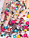 2000pcs Nail Art Decoration strass Perles Maquillage cosmetique Nail Art Design