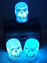 vânzare Halloween consumabile decorare craniu de noapte lumina de culoare aleatorii