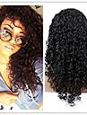 evawigs naturligt svart färg brasilianskt jungfru människohår u del spets front kinky lockigt spets peruk