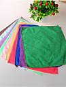 pratique petit lavage carr serviette fibre ultrafine multi-fonction couleur aleatoire