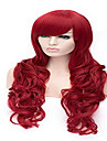 Cosplay Wig Peruker för kvinnor Röd kostym peruker cosplay peruker