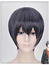kort längd grå svart kostym för män peruk cosplay frisyr - animeringen Mutsuki hajime sex allvar april