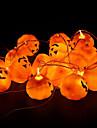 16st / set halloween pumpa rekvisita dekoration pumpa lampa halloween part dekoration en sträng pumpa ljus galen fest