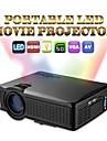1500 lumen hemmabio film fotbollsmatch bärbara mini LCD LED projektor stöd 1080p HMDI vga AV usb sd MHL