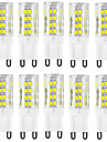 6W G9 LED a Double Broches T 51 SMD 2835 400-500 lm Blanc Chaud Blanc Froid Etanches Decorative AC 100-240 V 10 pieces