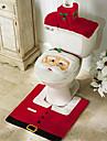 joyeux noel et bonne annee meilleur cadeau de Noel ; noel decorations tapis de bain de siege de toilette
