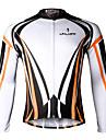 ILPALADINO Maillot de Cyclisme Homme Manches longues Velo MaillotSechage rapide Resistant aux ultraviolets Respirable Compression