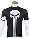 KEIYUEM® Maillot de Cyclisme Femme Homme Unisexe Manches courtes VeloEtanche Respirable Sechage rapide Design Anatomique Zip etanche