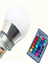 10W E14 GU10 E26/E27 Ampoules LED Intelligentes G80 1 LED Haute Puissance 450-500 lm lm RVB Commandee a Distance Gradable AC 85-265 V1