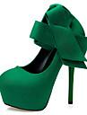 Homme-Soiree & Evenement-Noir Vert Rouge Gris-Talon Aiguille-Confort Nouveaute-Chaussures a Talons-Daim