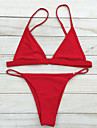 Dame Nailon Spandex Cu Susținere,Bikini Solid Solid