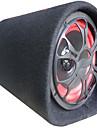 10-inch voiture de type tunnel voiture 12v24v220v circulaire subwoofer amplificateur de haut-parleur actif mince