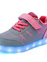 Blå / Rosa-Platt klack-Pojkar-Komfort-PU-Fritid-Sneakers