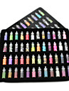 48 Manucure De oration strass Perles Maquillage cosmetique Nail Art Design