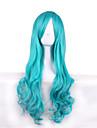 la nouvelle perruque cosplay nina li ellione d o \'Donnell funke perruques bleu clair 28 pouces