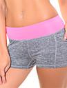 Pantalon de yoga Cuissard  / Short Shorts Sous-vetements Bas Respirable Sechage rapide Compression Taille moyenne Haute elasticite
