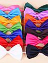 Katter Hundar Knyta/Fluga Röd Orange Gul Grön Purpur Svart Vit Rosa Ros Ljusgrön Cyan Hundkläder Vår/Höst RosettCosplay Födelsedag