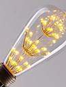 4W E26/E27 LED-glödlampor ST64 40 Högeffekts-LED 360LM LM Varmvit Dekorativ AC 220-240 V 1 st