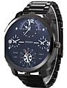 Bărbați Ceas Sport Ceas Militar Ceas Elegant Ceas La Modă Ceas de Mână Quartz Quartz Japonez Zone Triple De Timp Oțel inoxidabil Bandă